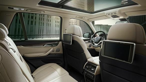 BMW X5 Udobnost